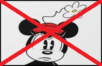 Anti Minnie Mouse Stamp by PetitAnge2