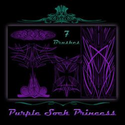 Pinstriping Brushes by purplesockprincess