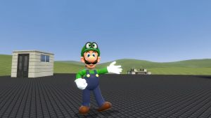 Super Mario Oddysey: Luigi wants to adventure. by SCP-096-2
