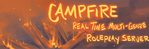 Campfire Banner (IC Only Roleplay Server)