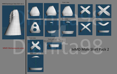 MMD Metasequoia Wips 1 by dianita98