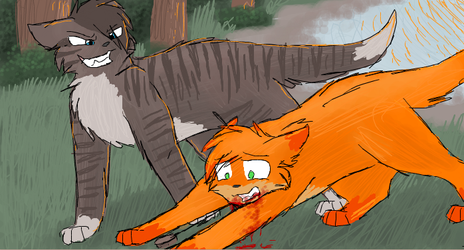 You're a fool, Firestar... by CascadingSerenity