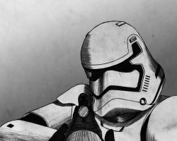 First Order Trooper by jmeaney