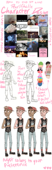 Awful Character Design by PearlChelle