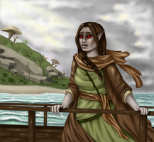 To Vvardenfell (Redraw) by lizzyrdraws