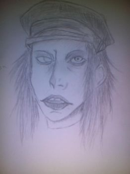 marylin Manson by oddsockzx