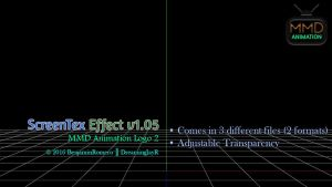 [MMD+DL] ScreenTex v1.05 (MMDLogo2) by BenjaminRomero