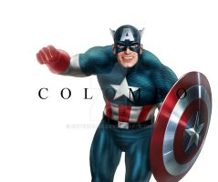 CAPTAIN AMERICA by supersebas