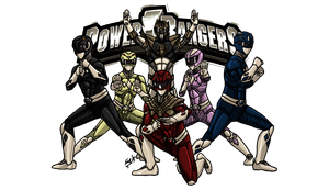 MMPR: The Great Darkness by kyomusha