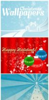 X-mas Wallpapers by Lydia-distracted