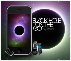 On the go: Black hole by TheAL