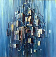 abstract city by YelloTy