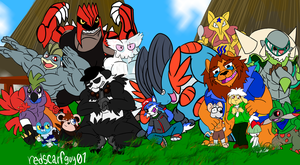 (com) group picture! by redscarfguy01