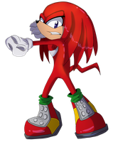 {FA} Knuckles The Echidna by DoodleDj