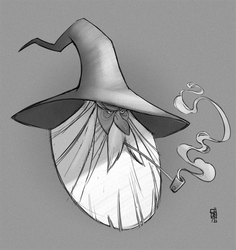 Gandalf quickie by CamaraSketch