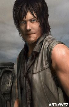 Daryl Dixon - The Walking Dead by W-E-Z