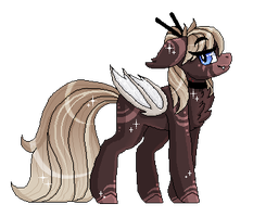 Cocoa Vampire Pone [Shaded] :COMM: by InspiredPixels