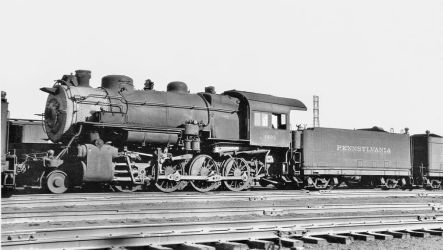 P.R.R. H.9.S #1493 in storage by PRR8157
