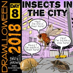 Drawlloween2018-day8-insects by bre-bro