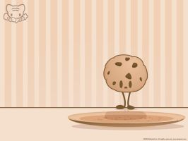 Choco Cookie-chan Wallpaper by lafhaha