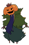 Pumpkin King tiny by kii-wi