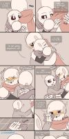 .Undertale Fancomic: Annoying Dog - Page 19.+ by Kintanga
