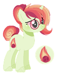 Mlp Next Gen Fire Ball (Smoothverse) by 6FingersLoverYT