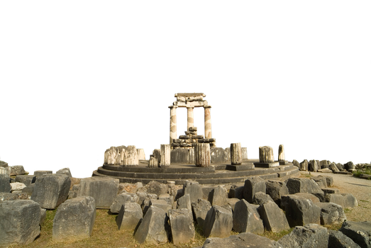Temple of Apollo ( Greece ) png by boodlemoo