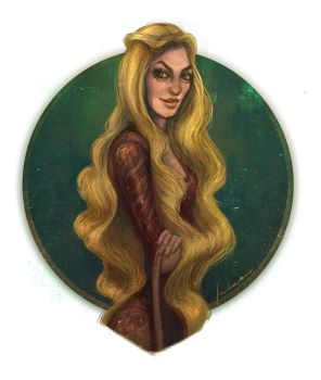 Cersei Lannister by dewmanna