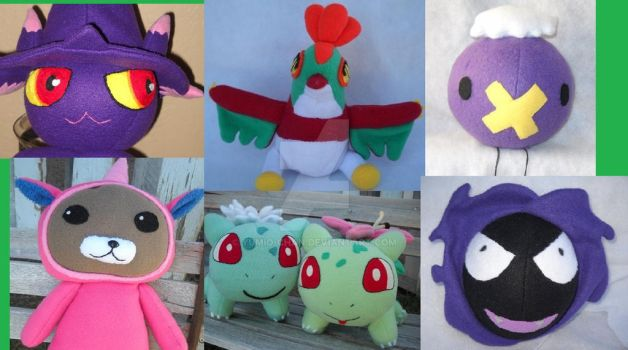 Some of my Favorite Plushies by Yumio-chan
