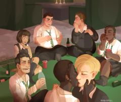 Slytherin afterparty by IVDP