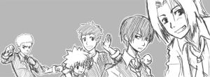 The Vongola Family by ferus