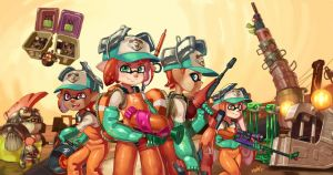 Salmon Run! by Comadreja