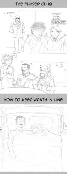 FMA: The Fuhrer Club and Keeping Wrath In Line by HighwindEngineer03