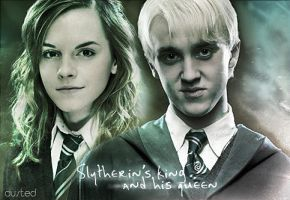 Slytherin's King And Queen by dusted92