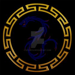Blue Dragons Logo by eitanya