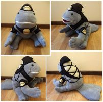 Quaggan  plush 5 by Koreena