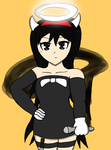 Alice Y. dressed as Alice Angel by RichardtheDarkBoy29