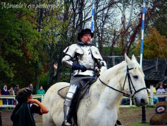 A Knight and His Trusty Steed by Mirandaseyephoto