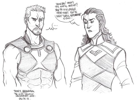 THOR - Awful haircut by the-evil-legacy