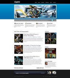 ASPIRE html Theme by escapepodone