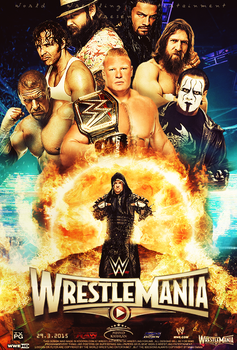 WrestleMania 31 ~ Poster by MhMd-Batista