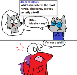 Character QnA - Heroes and Tokis by PizzaWolf20