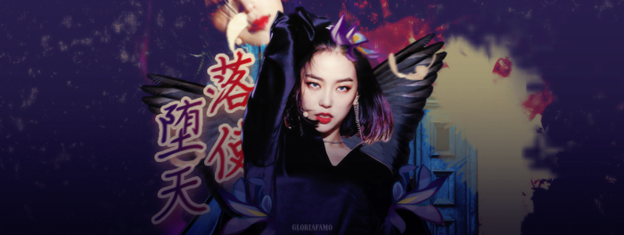 Fallen Angel Story - Yeeun CLC by gloriafamo