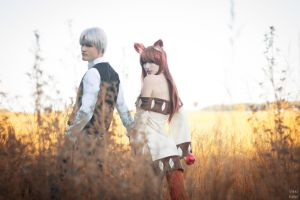 Spice and Wolf II by MeganCoffey