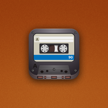 Cassette iOS Icon by marc2o