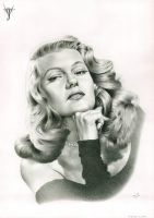 RITA HAYWORTH by jairolago