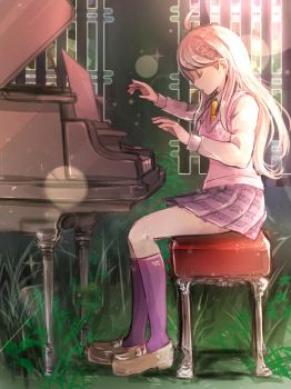 SHSL Pianist by riyuta