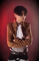Levi cosplay-test 1 by Prince-Lelouch