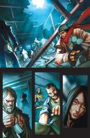 Dread Force Page 1 by Sandoval-Art